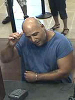 Homestead, Florida Bank Robbery Suspect, Photo 1 of 4 (10/3/12)