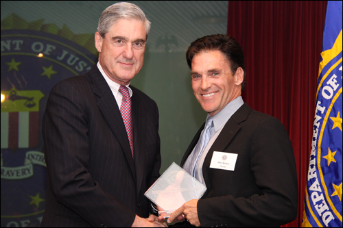 Director Mueller and Mike Watkiss