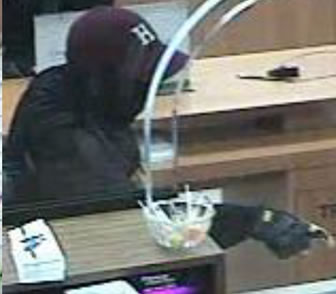 San Diego Bank Robbery Suspect, Photo 2 of 3 (12/19/13)