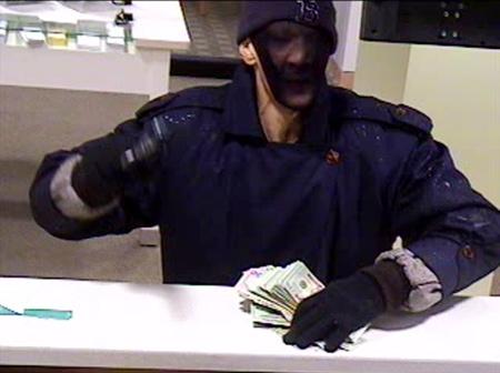 """""""Trench Coat Bandit"""" Quincy Bank Robbery Suspect (2/3/10)"""
