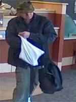 Cambridge Bank Robbery Suspect, Photo 8 of 8 (10/1/13)