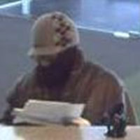 Boston Area Bank Robbery Suspect, Photo 4 of 4 (2/11/14)