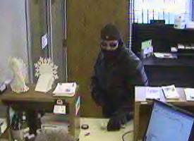 Monticello, Indiana Bank Robbery Suspect, Photo 4 of 5 (12/23/10)