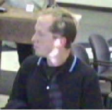 Wheat Ridge Bank Robbery Suspect, Photo 1 of 2 (12/15/10)
