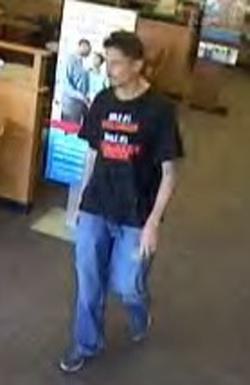 Houston Bank Robbery Suspect (5/28/13)