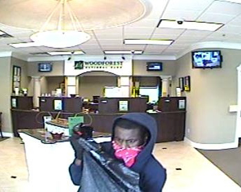 Humble, Texas Bank Robbery Suspect, Photo 2 of 3 (3/22/13)