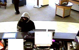 San Diego Armed Bank Robbery Suspect, Photo 3 of 6 (11/18/11)