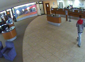 Knoxville Bank Robbery Suspect, Photo 1 of 4 (1/11/10)