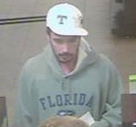 Knoxville Bank Robbery Suspect, Photo 5 of 5 (12/17/10)