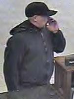 Oklahoma City Bank Robbery Suspect, Photo 2 of 2 (12/19/13)