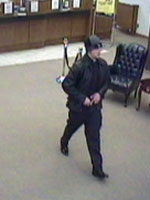 Midwest City, Oklahoma Bank Robbery Suspect, Photo 1 of 3 (2/27/14)