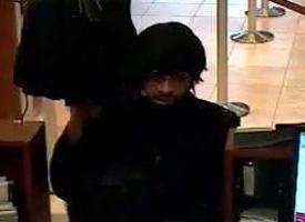 El Cajon, California Bank Robbery Suspect, Photo 3 of 4 (12/23/10)