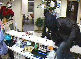 Denver Bank Robbery Suspect, Photo 2 of 4 (12/24/09)