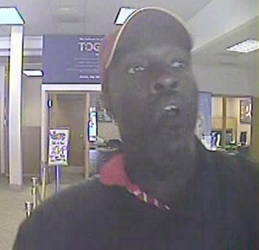 Denver/Aurora Bank Robbery Suspect, Photo 3 of 7 (9/26/12)