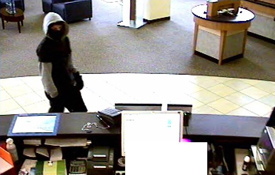 San Diego Armed Bank Robbery Suspect, Photo 5 of 6 (11/18/09)