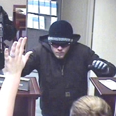 Gainesville Bank Robbery Suspect, Photo 2 of 2 (12/11/12)