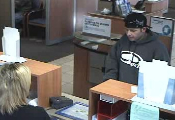 Fallbrook, California Bank Robbery Suspect, Photo 1 of 2 (12/10/10)