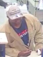 Houston Bank Robbery Suspect, Photo 4 of 4 (2/21/14)