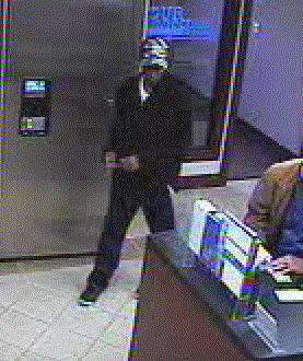 Norman, Oklahoma Bank Robbery Suspect, Photo 4 of 4 (2/1/13)