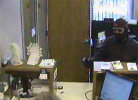 Monticello, Indiana Bank Robbery Suspect, Photo 1 of 5 (12/23/10)