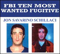 Jon Savarino Schillaci wanted poster