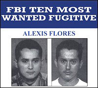 Alexis Flores wanted poster