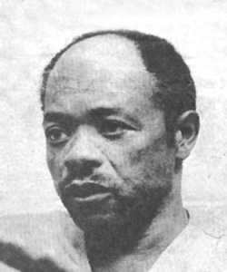 Fugitive's photograph upon arrest