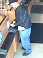 Old Bridge, New Jersey Bank Robbery Suspect, Photo 2 of 7 (10/8/13)