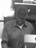Humble, Texas Bank Robbery Suspect, Photo 1 of 3 (5/7/13)