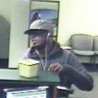 Philadelphia Bank Robbery Suspect, Photo 2 of 3 (9/10/13)