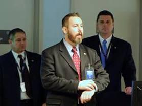 ASAC Richard Frankel, SEMU Coordinator SA Jonathan Gilliam (center) and A/ASAC Chuck Berger (right)