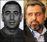 The State Department's Rewards for Justice program is now offering a bounty up to $5 million for Mohammed Ali Hamadei, left, and Ramadan Abdullah Mohammad Shallah