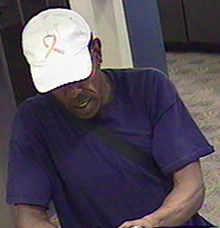 Denver Bank Robbery Suspect, Photo 3 of 4 (9/28/11)