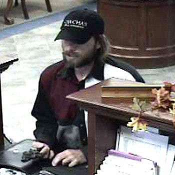 Oklahoma City Bank Robbery Suspect, Photo 1 of 3 (11/6/10)