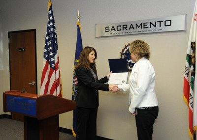 Sacramento 2013 Director's Community Leadership Award Presentation, Photo 1 of 3 (12/23/13)