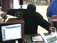 Del City, Oklahoma Bank Robbery Suspect, Photo 1 of 6 (2/2/13)
