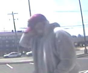 Philadelphia Bank Robbery Suspect, Photo 4 of 4 (4/5/13)