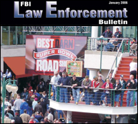 January 2006 Law Enforcement Bulletin cover