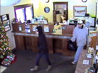 Greeley Bank Robbery Suspects, Photo 2 of 2 (1/6/10)