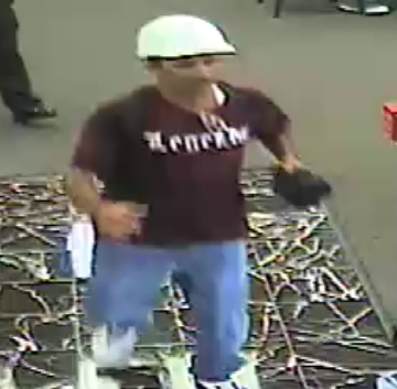 Miami Bank Robbery Suspect, Photo 3 of 3 (10/19/12)
