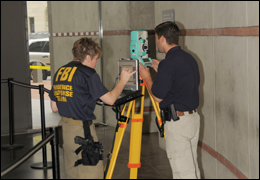 Members of our Evidence Response Team set up their crime scene equipment after the June 10 shootings at the Holocaust Memorial Museum in D.C.