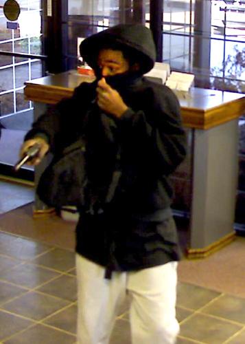 Oklahoma City Bank Robbery Suspect 1 (1/18/13)