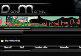 "Screen Capture of ""Dark Market"" Website"