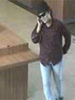 Santa Ana, California Bank Robbery Suspect, Photo 2 of 2 (6/24/13)