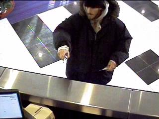 Philadelphia Bank Robbery Suspect, Photo 1 of 2 (12/29/09)
