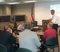 Director Mueller visiting hurricane stricken region