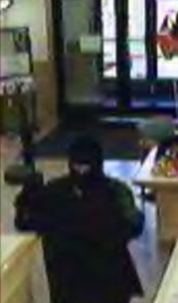 Rexburg, Idaho Bank Robbery Suspect, Photo 3 of 3 (11/7/12)