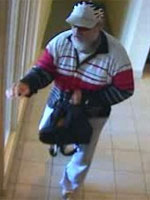 Knoxville Bank Robbery Suspect, Photo 1 of 3 (7/30/12)