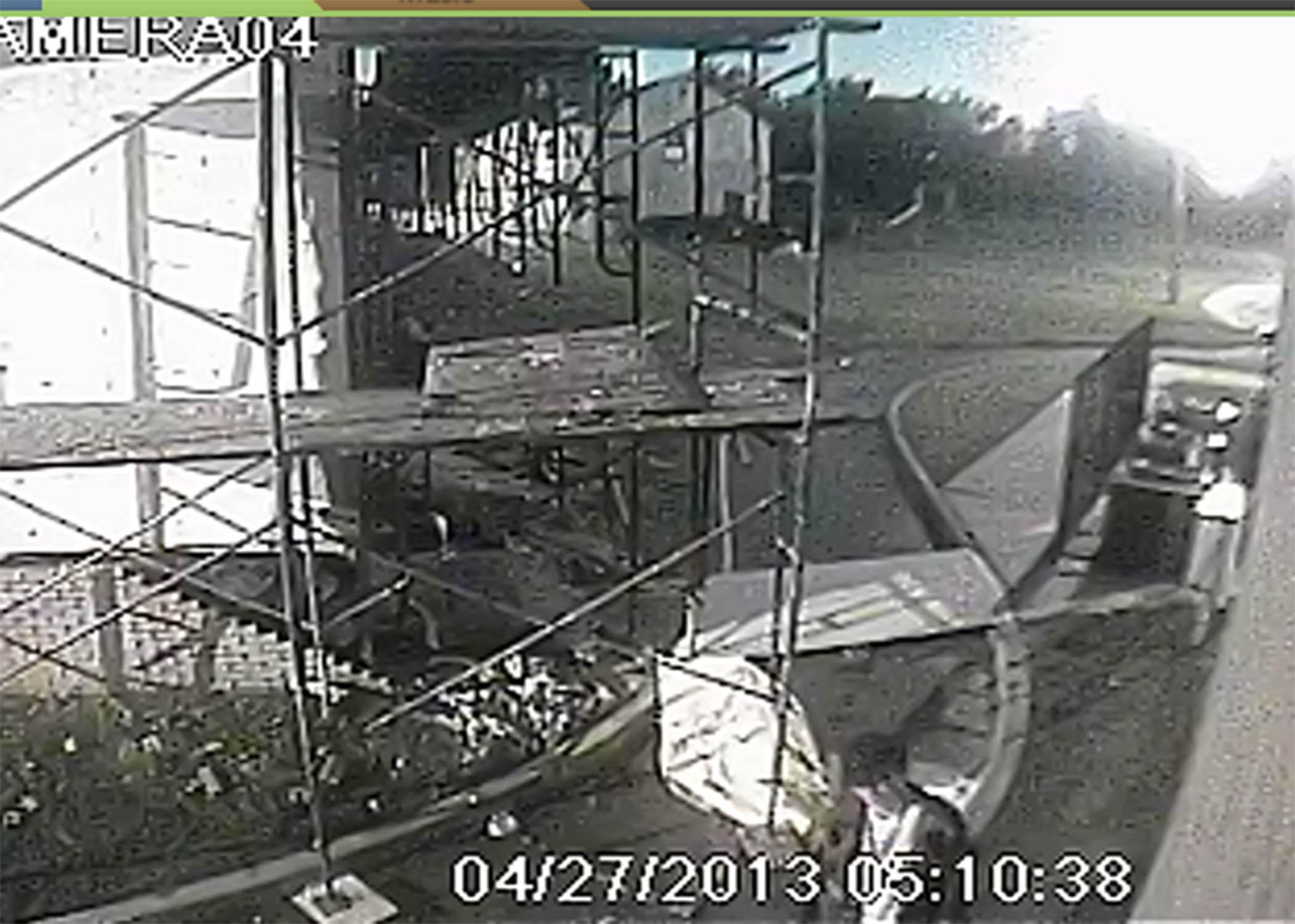 Oklahoma City Mosque Vandalism, Photo 3 of 4 (4/29/13)