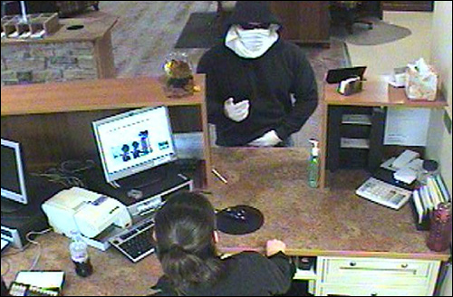 Bank Robber and Teller
